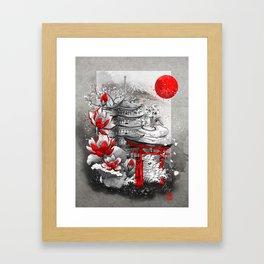 Nihon Framed Art Print
