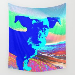Puppy Pop Wall Tapestry