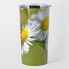 Bee on flower 83 Travel Mug