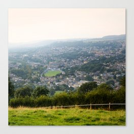 Matlock from the castle Canvas Print