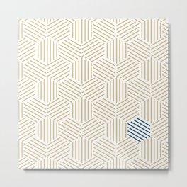 Hive Gold #397 Metal Print