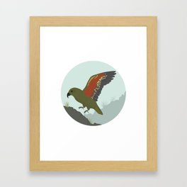 Kea Framed Art Print