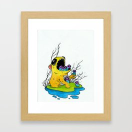 Mouth Monsters Framed Art Print