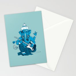 Ganesha rocks ! (v3) Stationery Cards