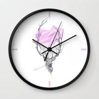 dear Wall Clocks featuring Dear by eDrawings38