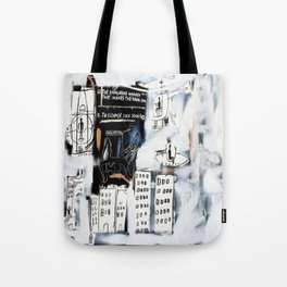 Basquiat City Tote Bag