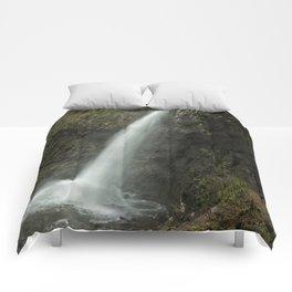Upper Latourell Falls, No. 2 Comforters