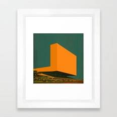 Block 26 Framed Art Print