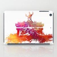 vienna iPad Cases featuring Vienna skyline by jbjart