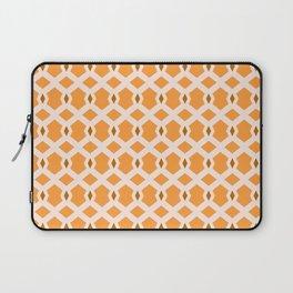 Hippie Weave (orange-brown) Laptop Sleeve
