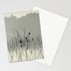 Early morning at the lake. Stationery Cards