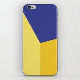 Color block #5 iPhone Skin