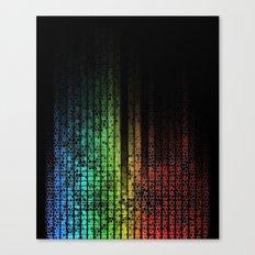 Musaic Equalizer Canvas Print