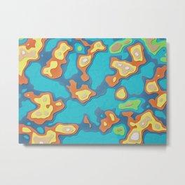 My Island in the Sun Metal Print