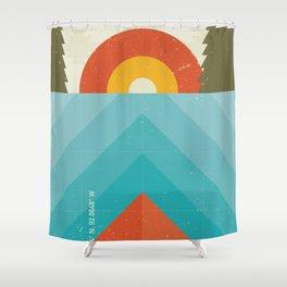 Niangua River Shower Curtain