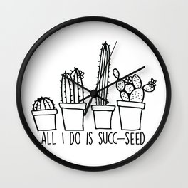 All I Do Is Succ-Seed Wall Clock
