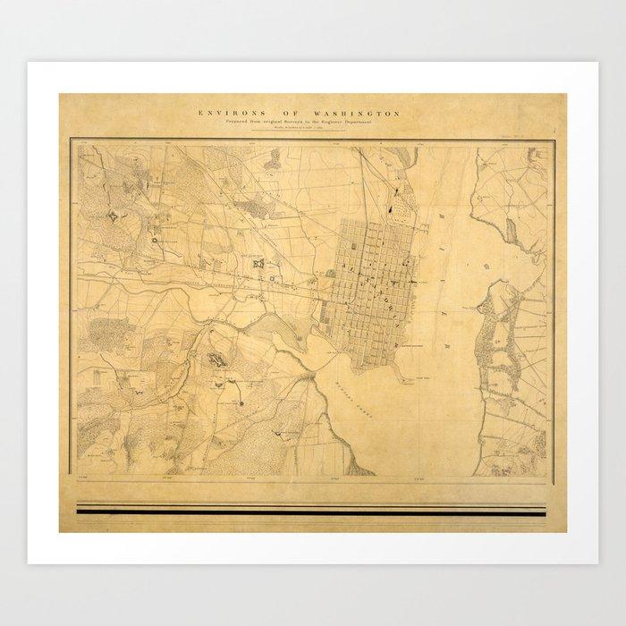 Map Of Alexandria Va on