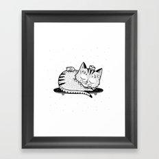 Scat or Die Framed Art Print