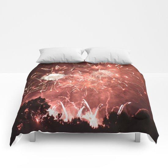 Fireworks1 Comforters