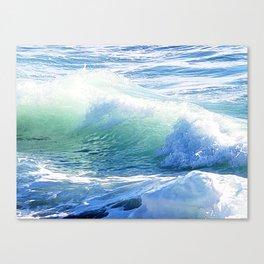 Laguna Winter Waves Canvas Print
