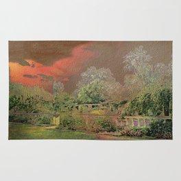 English Garden Sunset Rug