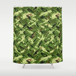 Ghost Camo Shower Curtain