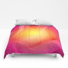 Abstract Rose  Comforters
