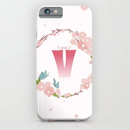 Letter V iPhone Case