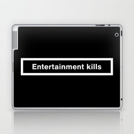 Entertainment Kills Laptop & iPad Skin
