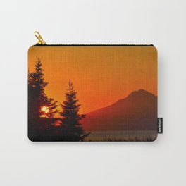 Orange Sky - Mt. Redoubt Carry-All Pouch