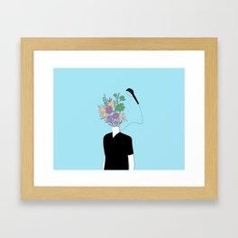 Summer Shower Framed Art Print