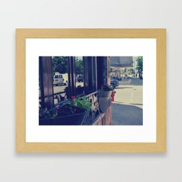 Store Framed Art Print