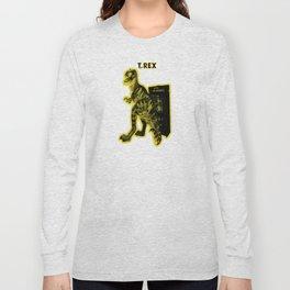 Electric Warriosaurus Long Sleeve T-shirt