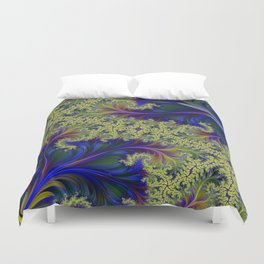 Feather Brocade #2 Duvet Cover