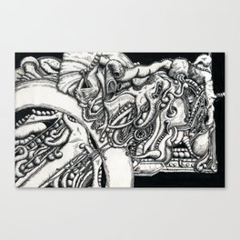Tentacle Tart Canvas Print
