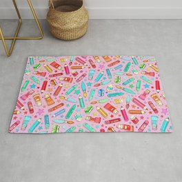 Rainbow Stationary and Art Supplies - Pink Rug