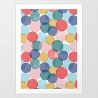 bubble Art Prints featuring Bubble by Emmyrolland