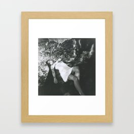 I can feel you all around me. Framed Art Print