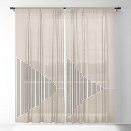 Tri 9 Sheer Curtain