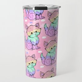Rainbow Cats Travel Mug