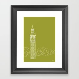 London by Friztin Framed Art Print