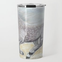 Gallop on the Sands Travel Mug