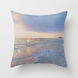 Magic ocean Throw Pillow