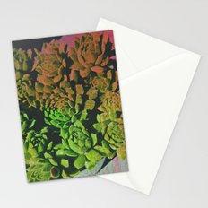 SuccuGlitch Stationery Cards