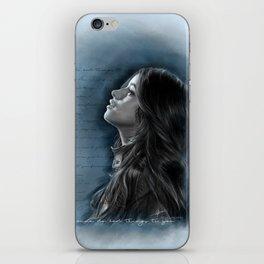 Camila Digital Painting with Bad Things Lyrics iPhone Skin