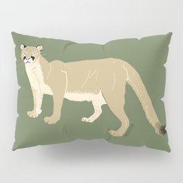 Carnivores of World: Cougar Pum(a) (c) 2017 Pillow Sham