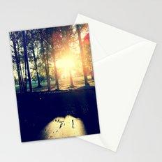 Backyard Sunset Stationery Cards
