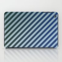 stripes iPad Cases featuring Stripes by David Zydd