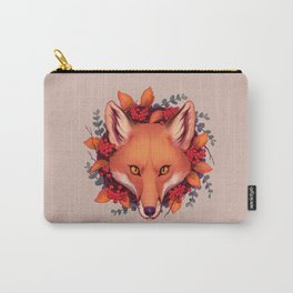 Fall Fox Carry-All Pouch