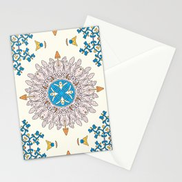 Sunny day Mandala Stationery Cards
